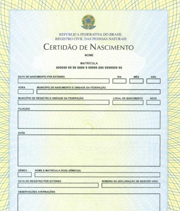 Como tirar segunda via da Certidão de Nascimento