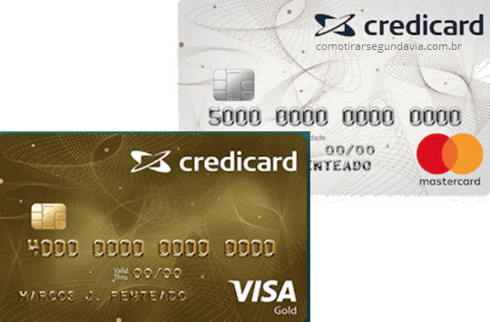 Como tirar segunda via da Credicard