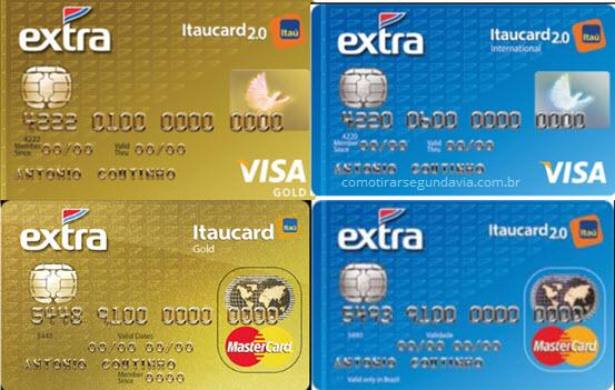 Como tirar segunda via da fatura do cartão Extra Itaucard