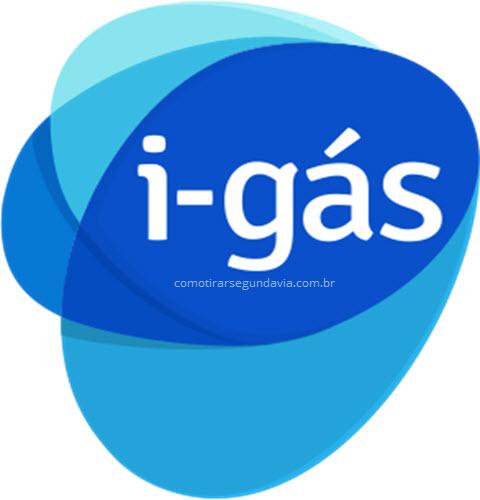 Logo da I-gás, segunda via da conta de gás da I-gás