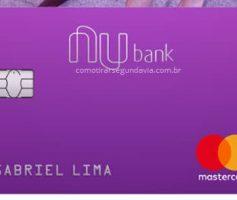 2ª segunda via da fatura do cartão Nubank