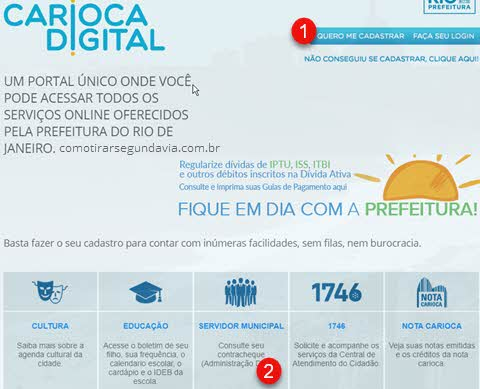 Segunda via contracheque Rio de Janeiro
