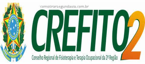 Logo Crefito2, tirar segunda via Crefito RJ