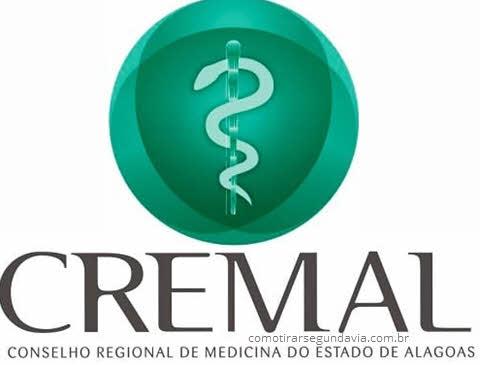 Logo CREMAL, tirar segunda via CREMAL
