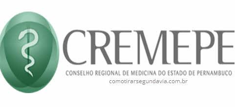 Logo CREMEPE, tirar segunda via CREMEPE