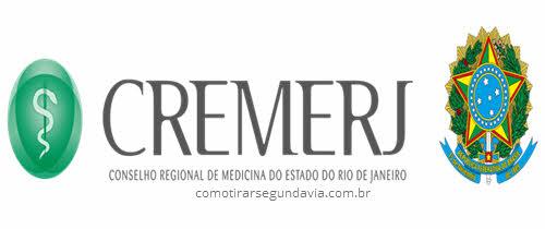Logo CREMERJ, tirar segunda via CREMERJ