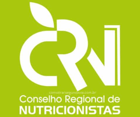Logo CRN, segunda via conselho regional de nutricionistas