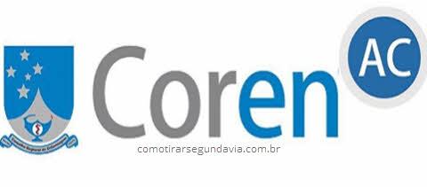 Logo Coren AC, segunda via Coren Acre