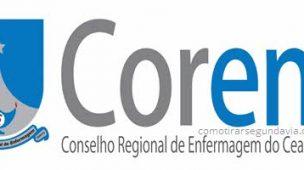 Segunda via Coren-CE