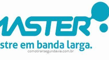 Segunda via Master TV e internet