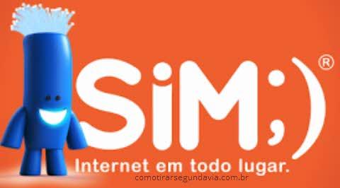 Como tirar segunda via SiM Internet
