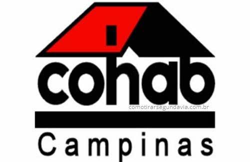 Como tirar segunda via Cohab Campinas SP