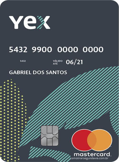 Como tirar segunda via cartão YEX Sodexo