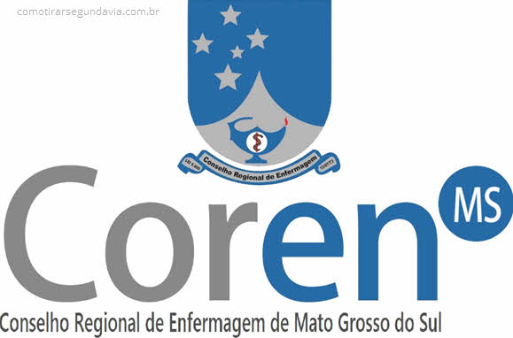 Como tirar segunda via Coren Mato Grosso do Sul MS