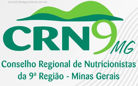 Como tirar segunda via do CRN-9 Minas Gerais
