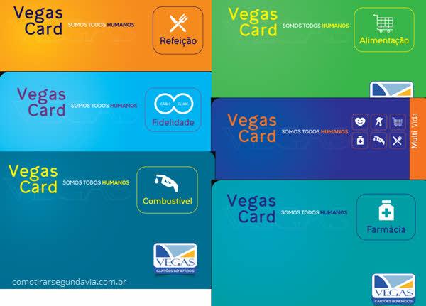 Como tirar segunda via do cartão Vegas Card
