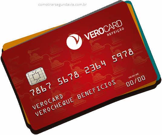 Como tirar segunda via do cartão Verocard