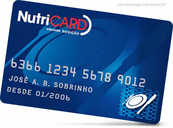 Como tirar segunda via cartão Nutricard