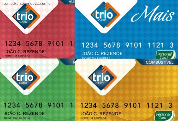 Como tirar segunda via cartão Trio Card