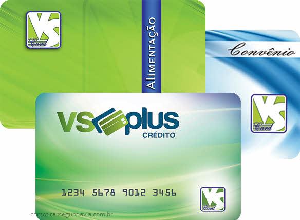 Como tirar segunda via do cartão VS Card