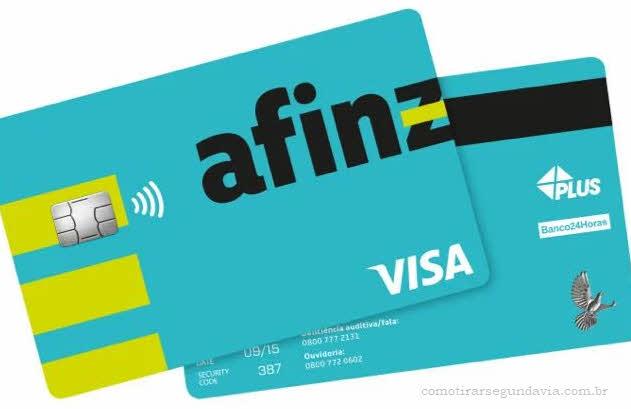 Como pedir segunda via da fatura e cartão Afinz