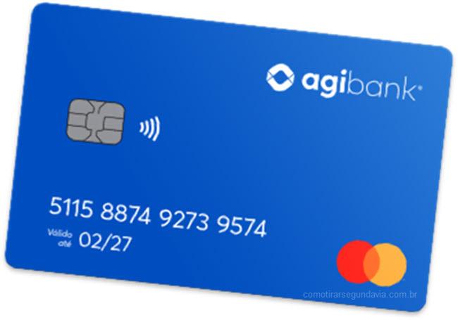 Como tirar segunda via do cartão Agibank